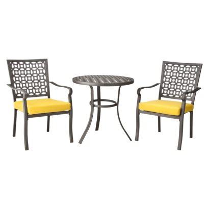 target home hawthorn 3 piece metal patio bistro furniture set i rh pinterest com outdoor furniture burwood road hawthorn outdoor furniture hawthorn east
