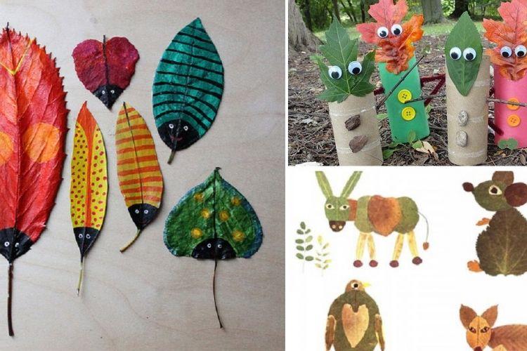 10 activit s pour enfant faire avec des feuilles projets de classe automne pinterest. Black Bedroom Furniture Sets. Home Design Ideas