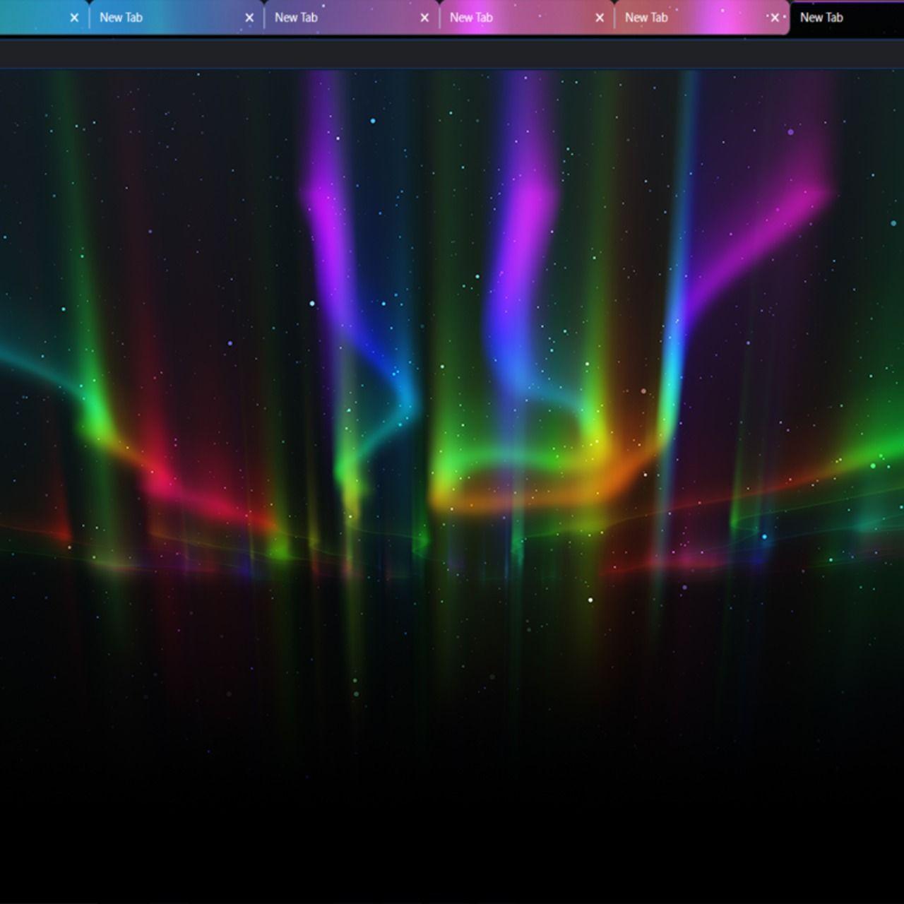 Aurora Multi Color New Tab Chrome Themes Chrome Theme Google Chrome Theme