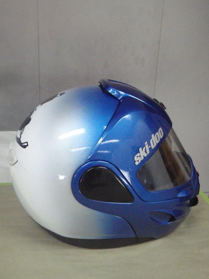 color change snowmobile helmet