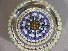 VINTAGE PERTHSHIRE SCOTLAND MILLEFIORE ART GLASS PAPERWEIGHT