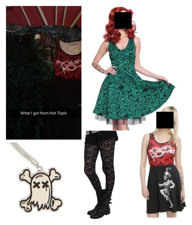 """""""What I got at hot topic #3"""" by katlanacross ❤ liked on Polyvore featuring hottopic"""