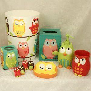 Bon Owl Bath Accessories @ Amazon.com $12.95