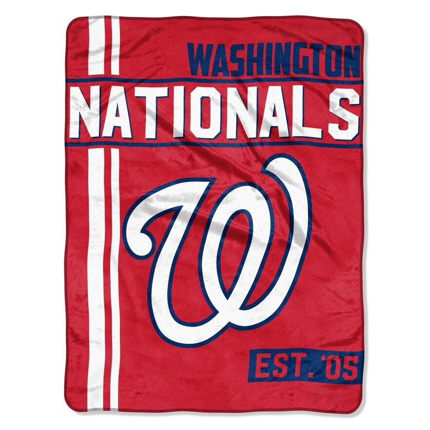 Washington Nationals Raschel Throw by Northwest