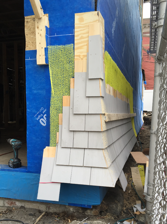 Best Installing Cedar Shingles With Woven And Flared Corners 400 x 300