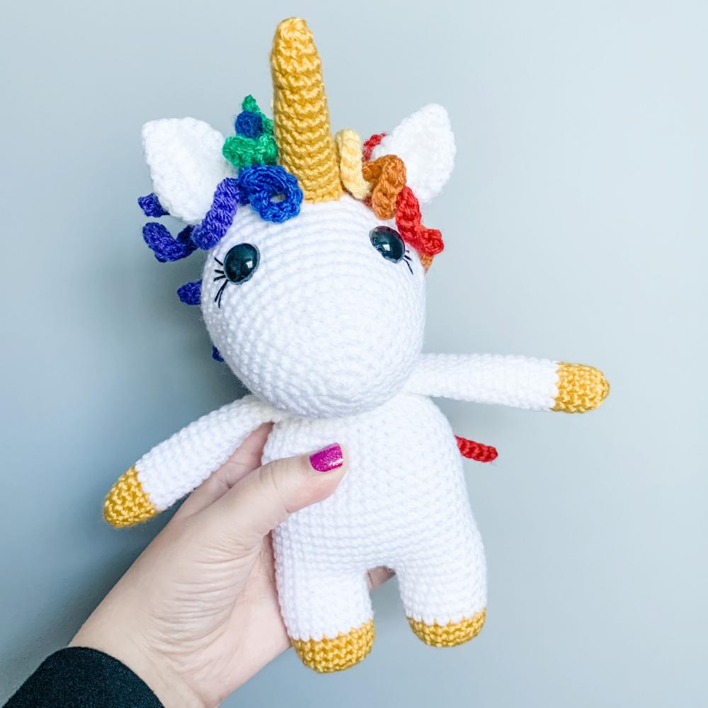 Free Crochet Amigurumi Unicorn Doll Pattern