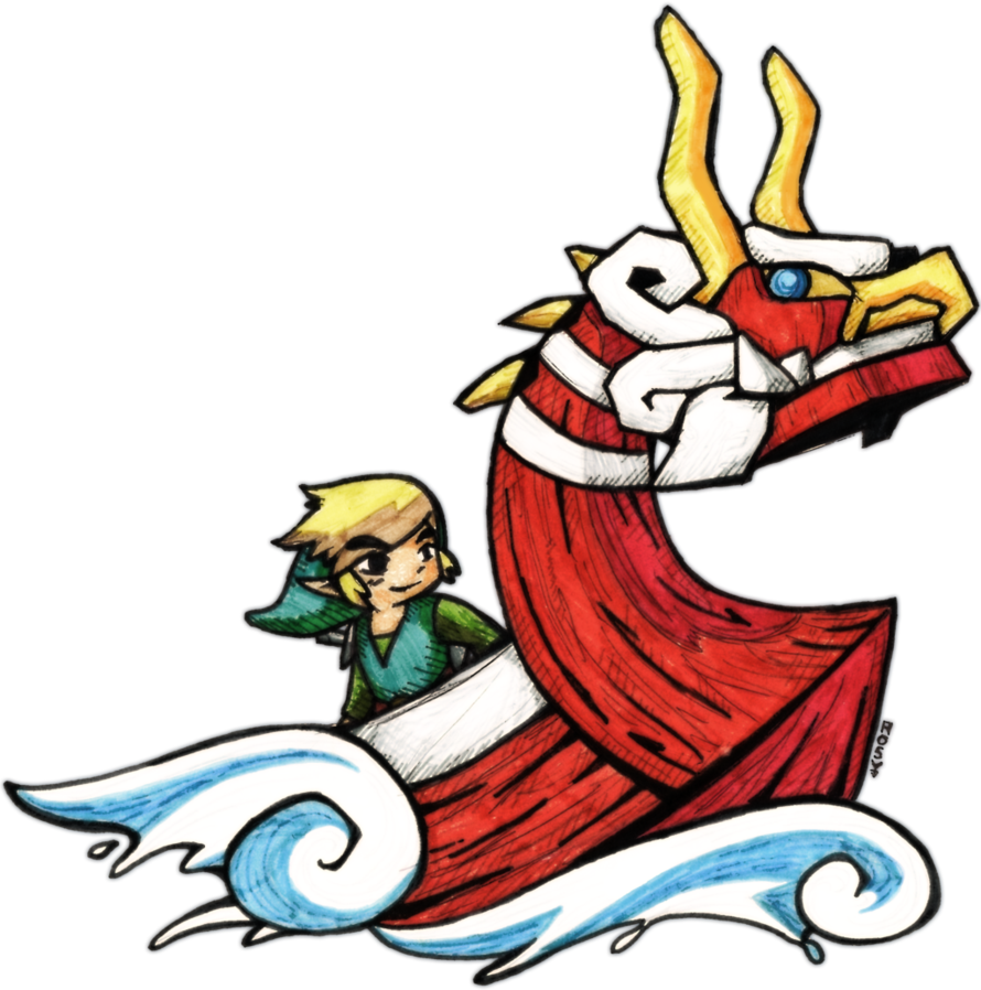 King of red lions zelda wind waker