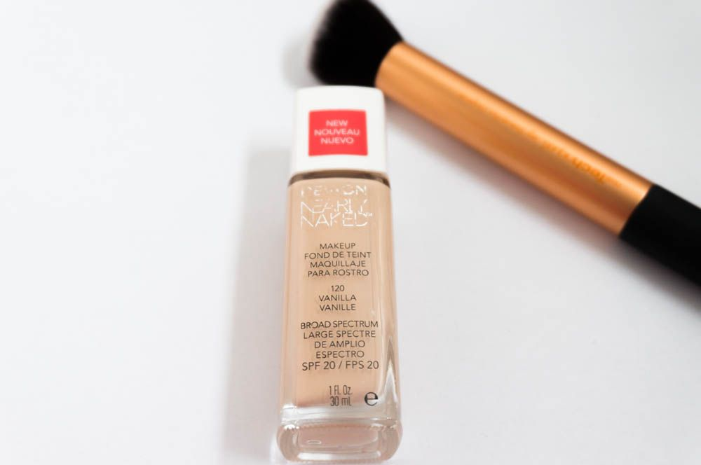 Review: REVLON - Nearly naked foundation  #Review #REVLON #Nearlynaked #foundation