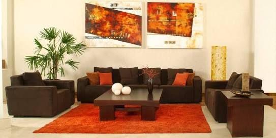 Decoracion Sala Chocolate Buscar Con Google Sala De Estar Marron Decoracion De Interiores Salas Decoracion Living