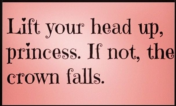 Lift Your Head Up Princess Pictures Photos And Images For
