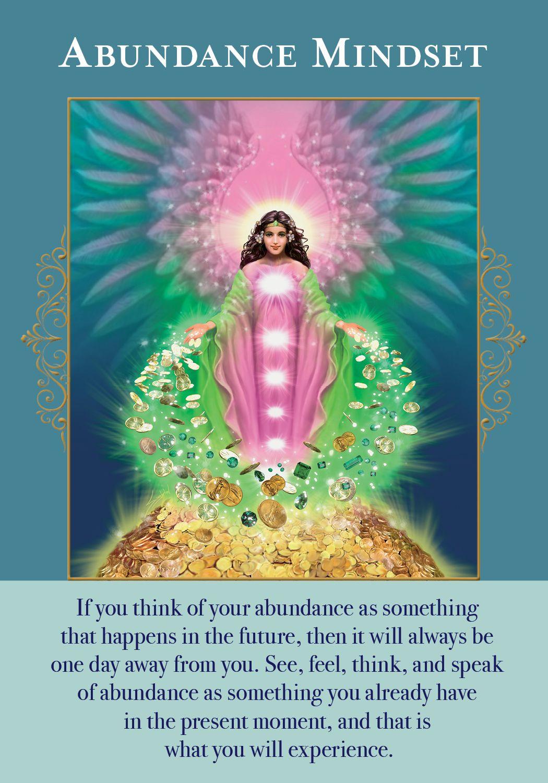Oracle card abundance mindset doreen virtue official