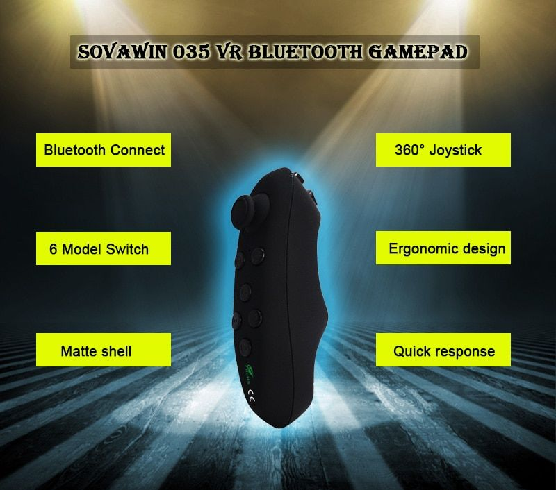 Sovawin Wireless VR Remote Controller For Android and iPhone