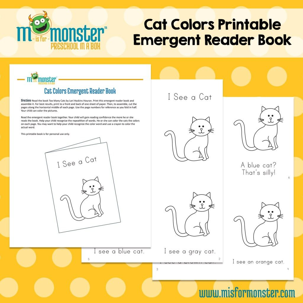 Free Emergent Reader Book From