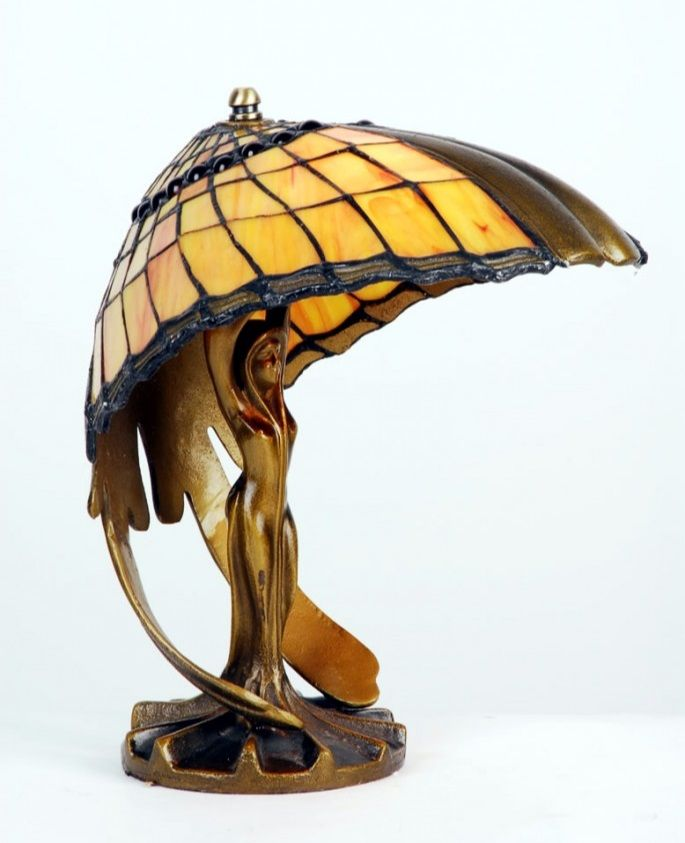 Louis Comfort Tiffany Art Desk Lamp Art Nouveau Lamps Tiffany