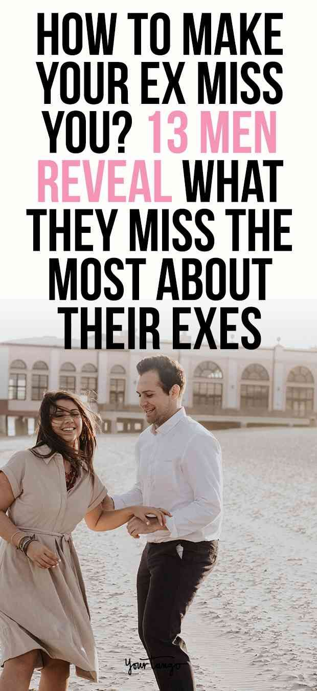 Do men miss their ex