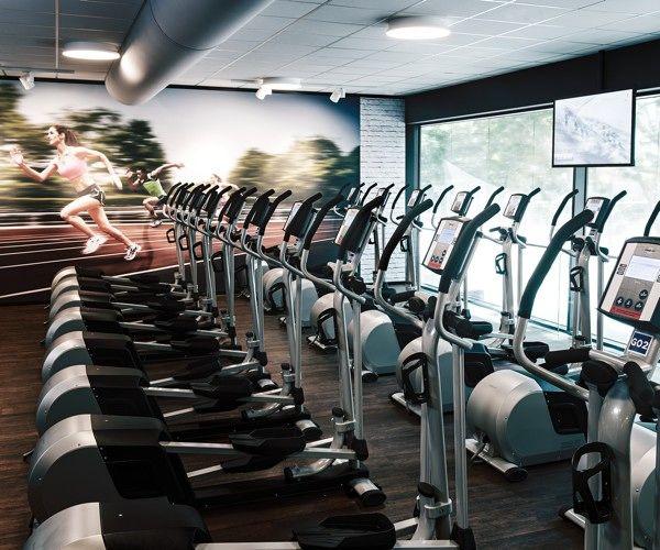 Ausdauertraining im McFIT Fitnessstudio fitness logo Pinterest - ideen heim fitnessstudio einrichten