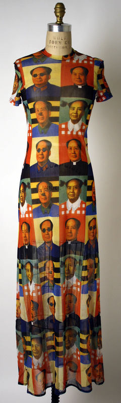 cad79a246 Vivienne Tam 1995, chairman Mao | Textile By Others | Dresses ...