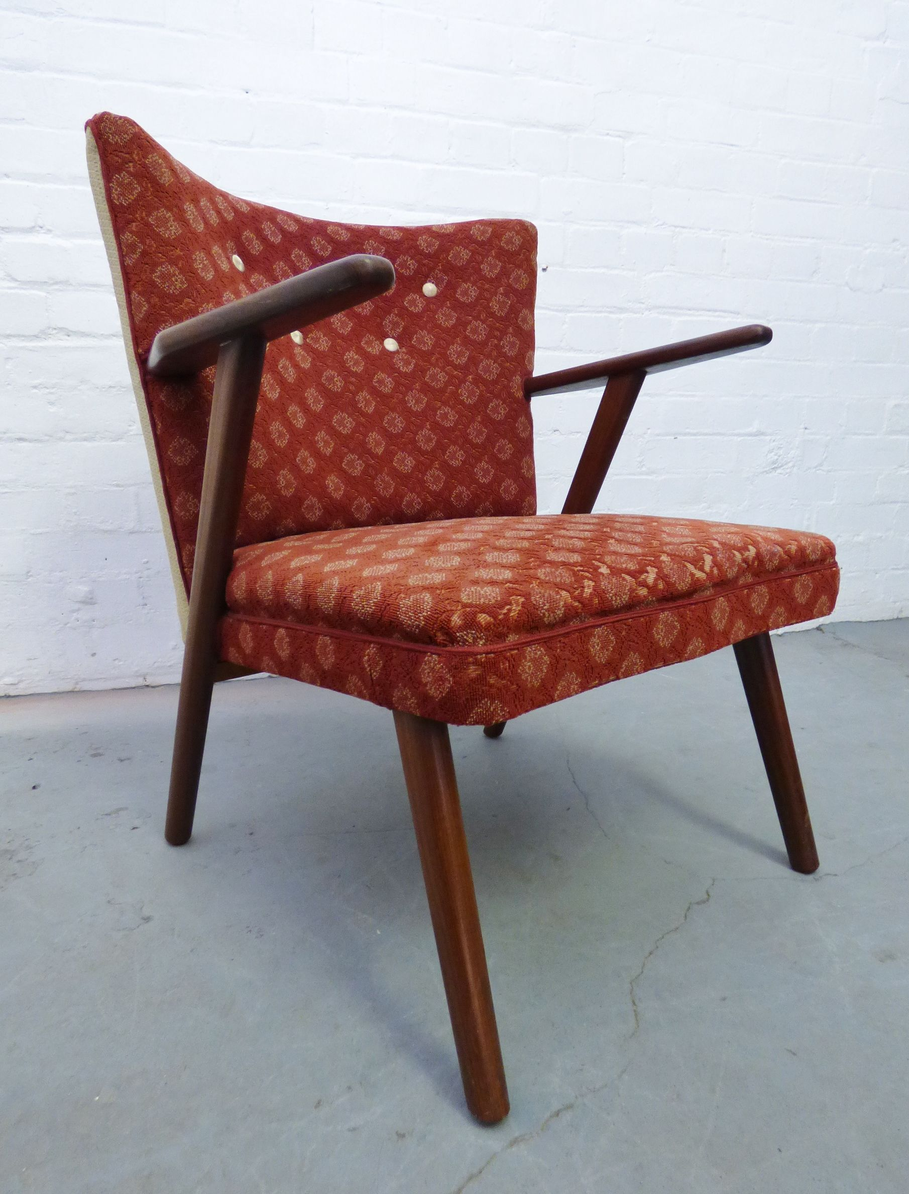 1950s Red Tail Chair Www Archivefurniture Co Uk Archive Furniture Danish