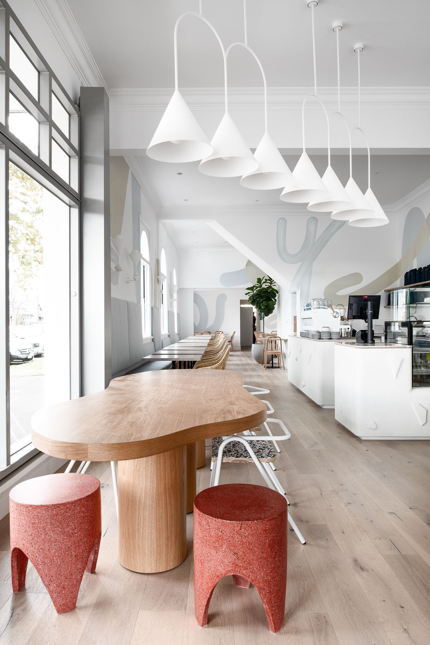 Lenny 3206 Restaurant Interior Cafe Design Cafe Interior