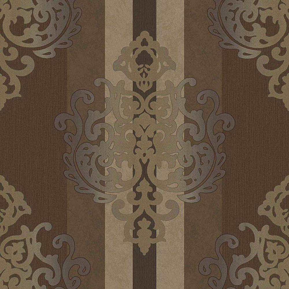 Rasch Tapete Deha 006429 Rasch Textil Vinyltapete Ornament Braun