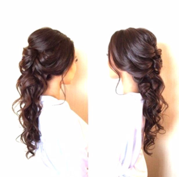 Impresionante peinado lindo para la graduación – Impresionante peinado de graduación – #hairstyl …