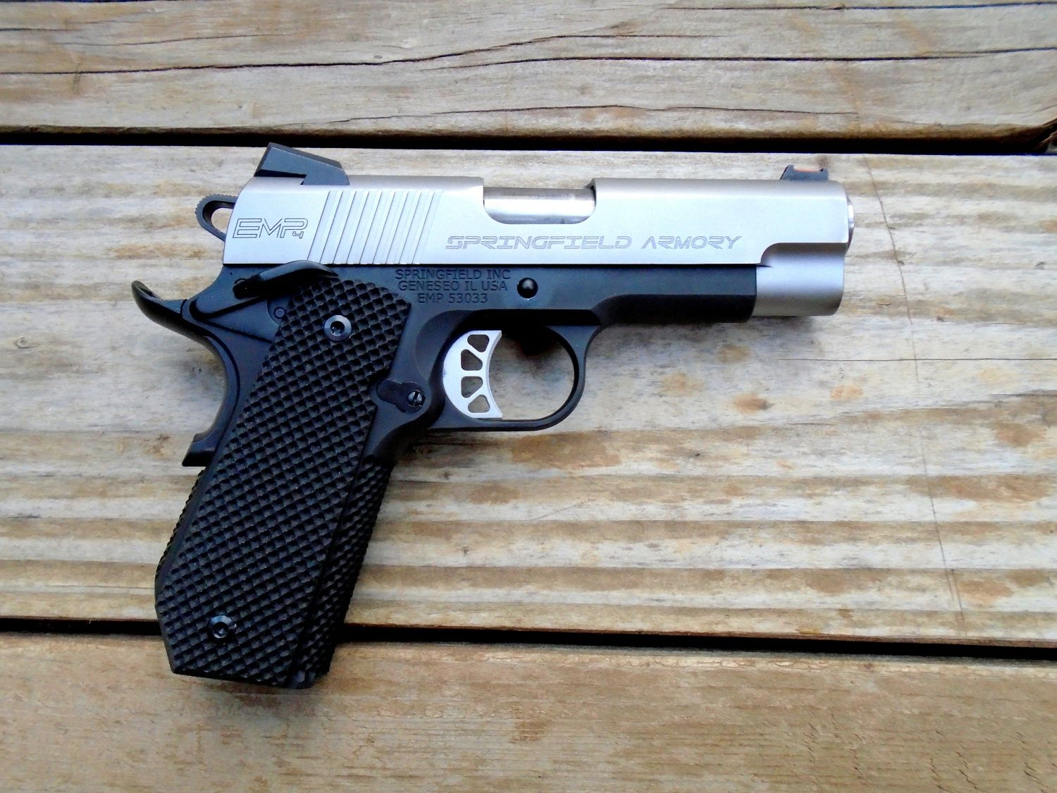"Pistol Review : Springfield Armory 1911 EMP 4"" Concealed"