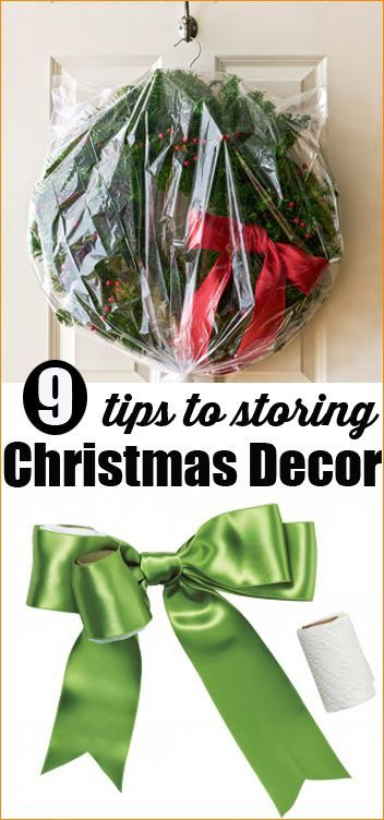 Ways to Store Christmas Decor Christmas decor, Tangled and Decoration