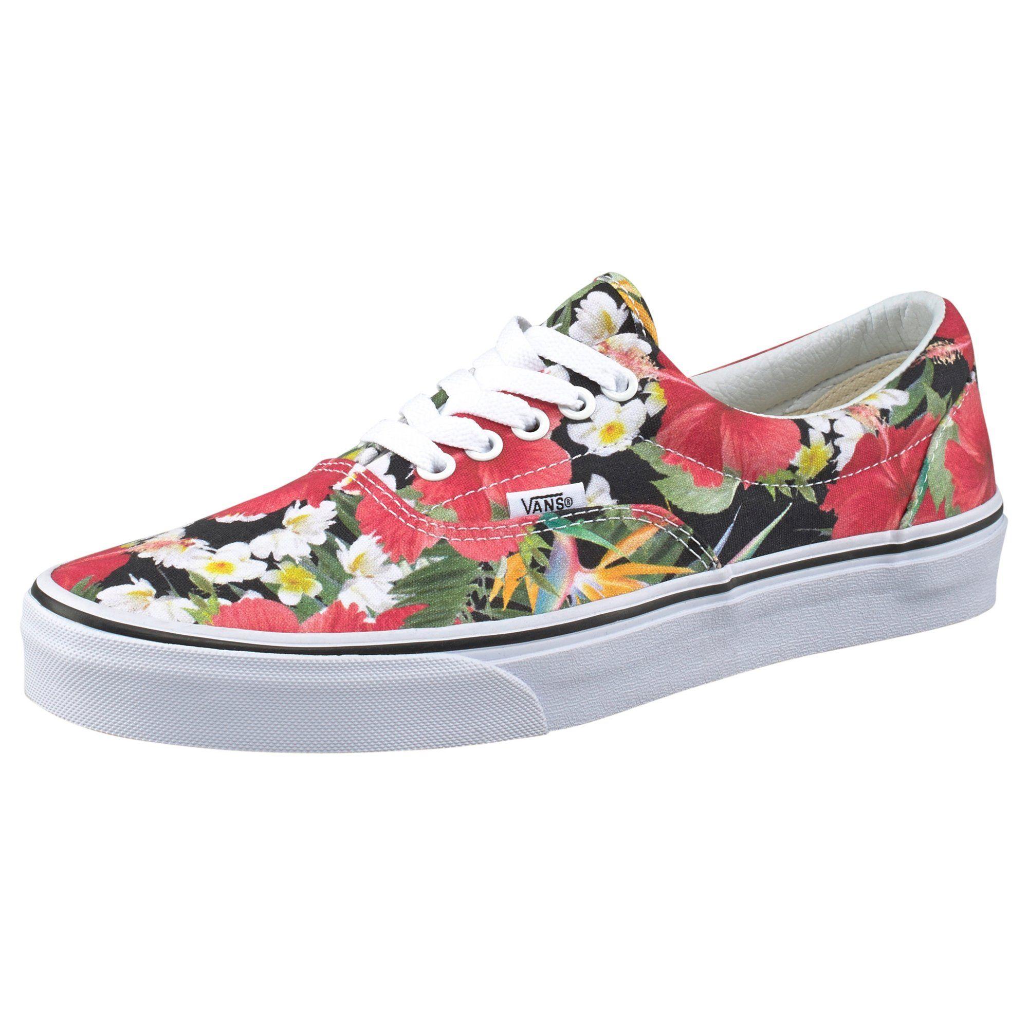 dd4b51c1c7a0 Vans Era chaussures de tennis fleurs femme. Un élégant motif pare vos  sneakere Era de