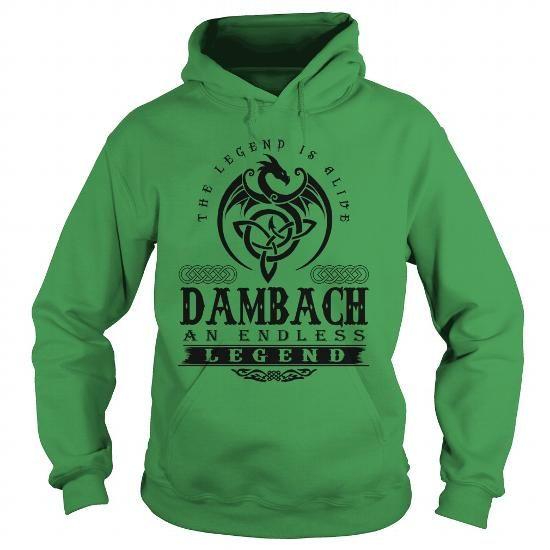 cool I Love DAMBACH T-Shirts - Cool T-Shirts