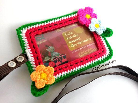 Häkelarbeit-Personalausweis-Kartenbesitzer  von kim0511 auf Etsy