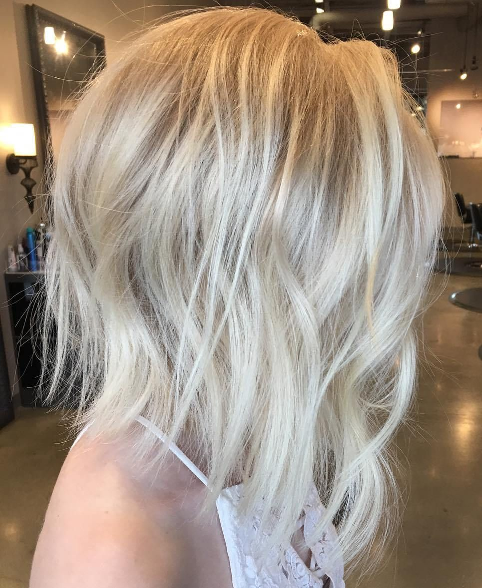 20 Long Choppy Bob Hairstyles For Brunettes And Blondes Long Hair
