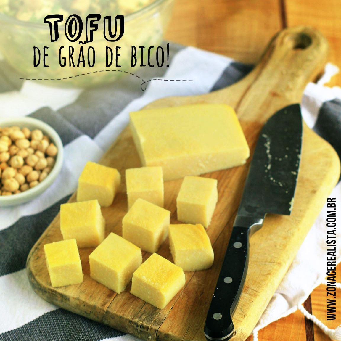 TOFU DE GRÃO DE BICO                                                       …