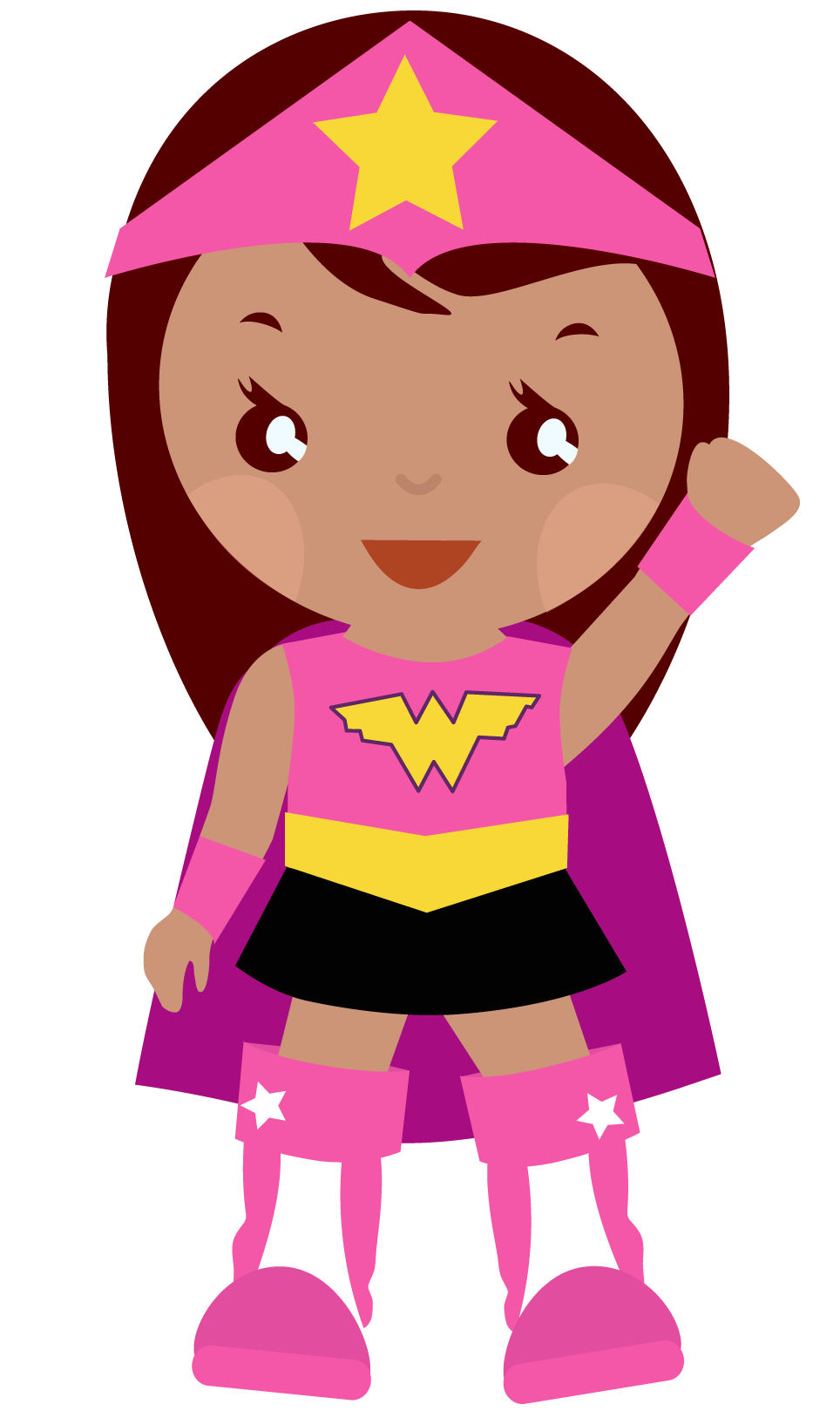You can use supergirl clip art