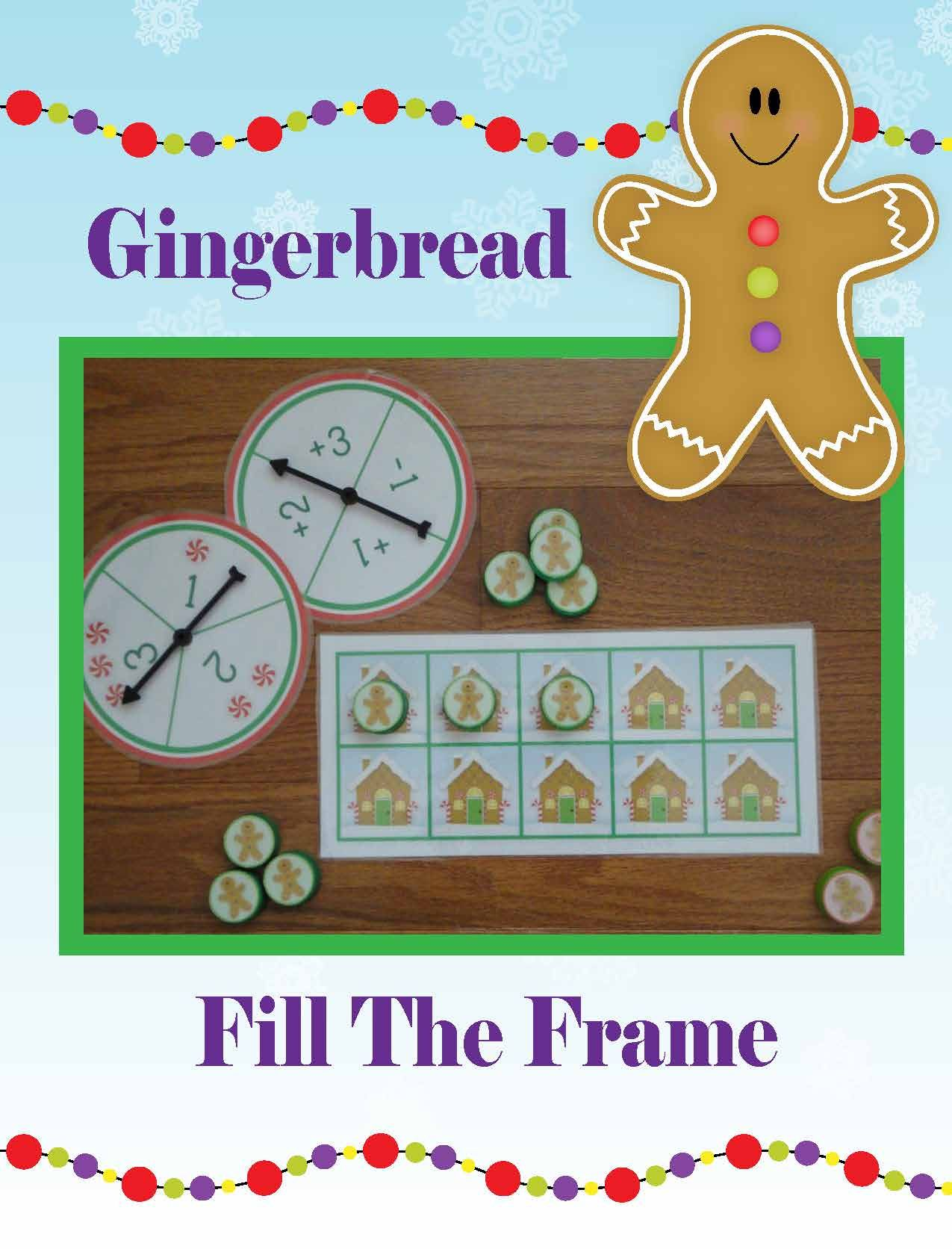 Gingerbread Man Activities | Gingerbread Math Activities | Christmas ...