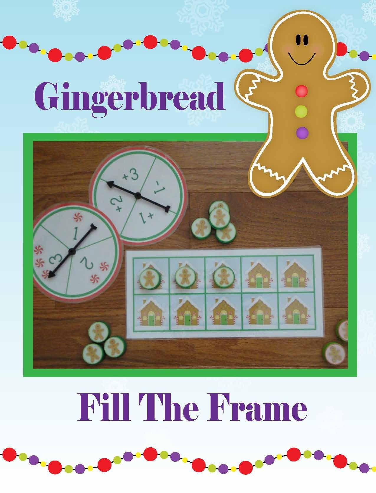 Gingerbread Man Activities | Gingerbread Math Activities | Christmas ...