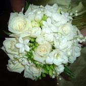 Simple and Classic white, always a crowd pleaser