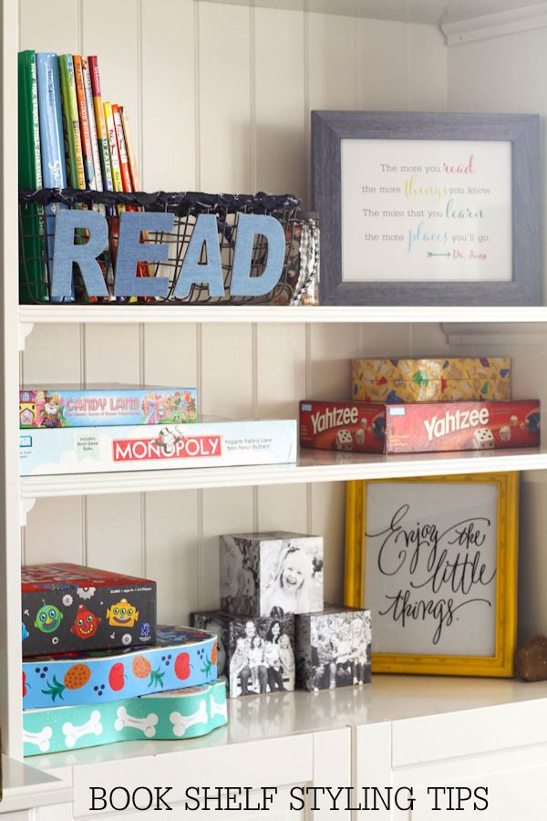 Beautiful Bookshelf Styling Tips To Keep Your Shelves, Pretty, Organized And  Clutter Free.