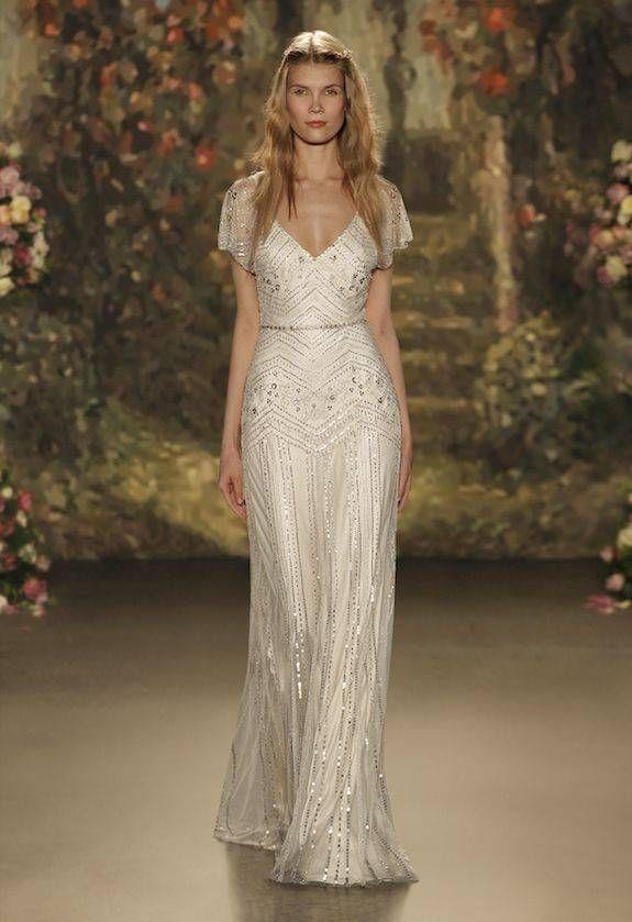 vestidos novia años 20 | trajes | jenny packham wedding dresses