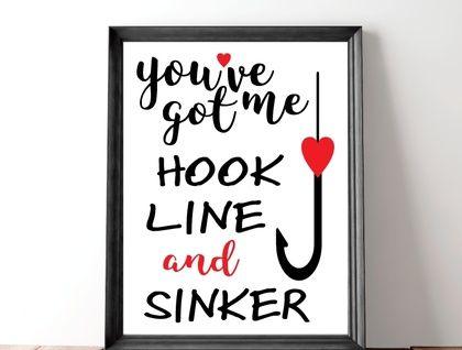 Fishing Love Quote Print My Hobby Pinterest Fishing Quotes Simple Love Fishing Quotes
