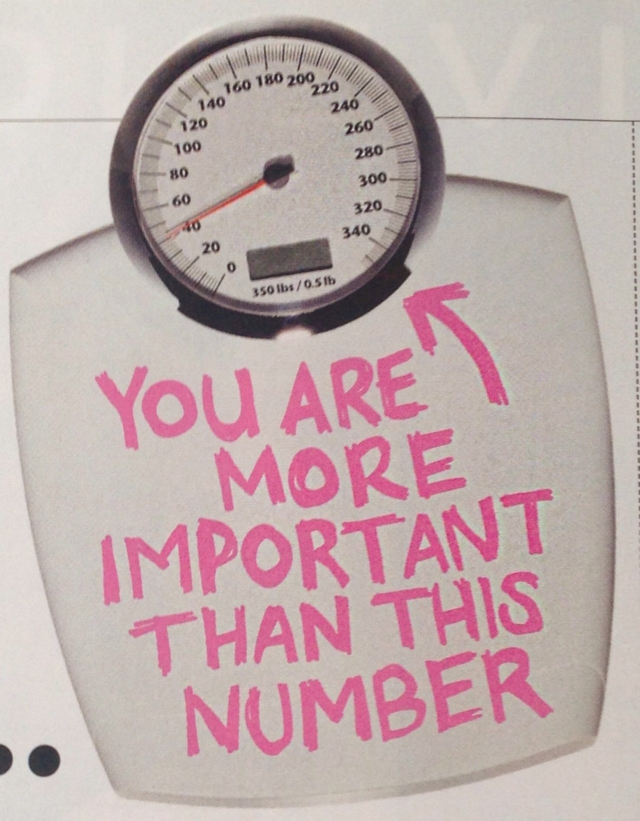 are more important than a number!