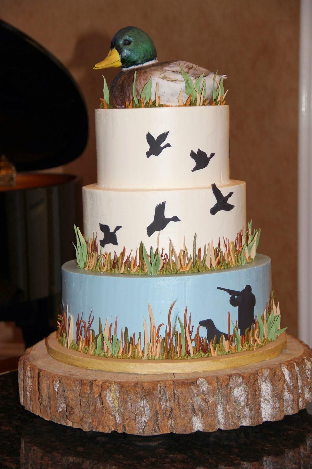duckhuntinggroomscakejpg 10661600 Birthday Ideas