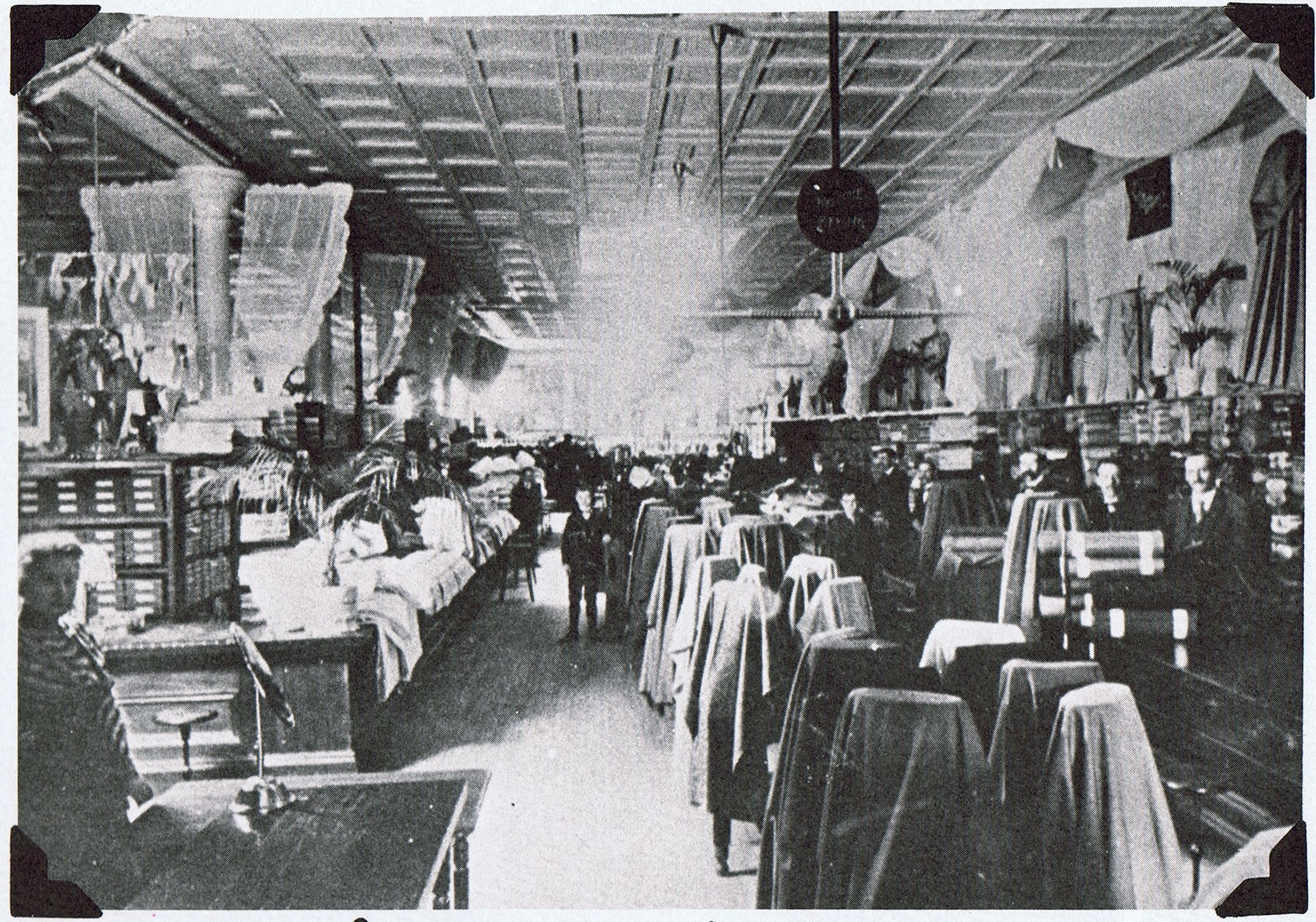 A View Of The Main Floor Of The Hess Brothers Store In