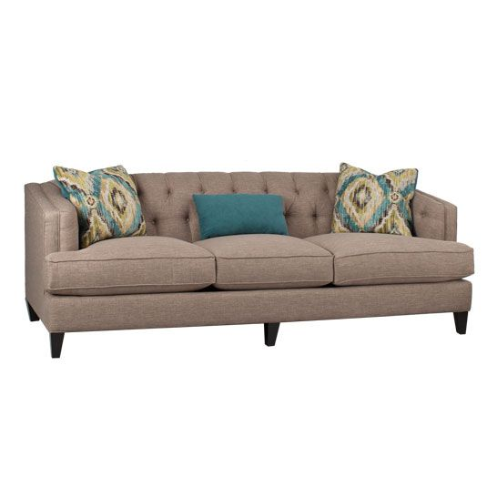 Nixon Living Room Collection Pumice Sofa In Pumice Living Room