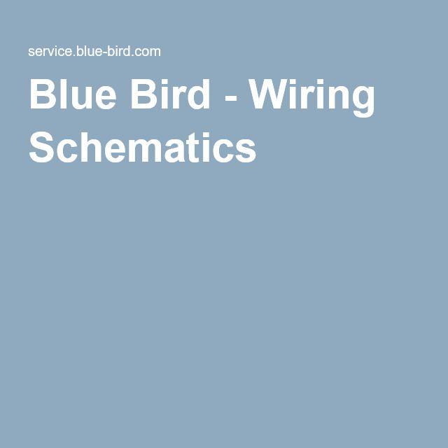blue bird wiring schematics school skoolie bus conversion rh pinterest com One Wire Alternator Wiring Diagram blue bird wiring schematics pdf