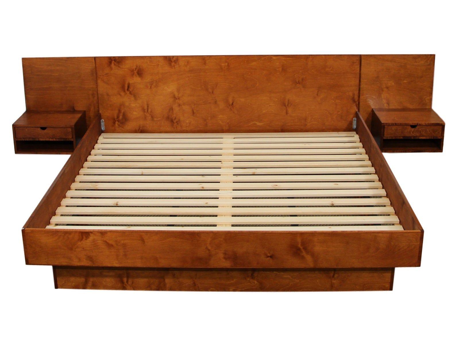 Best New Danish Inspired Custom King Size Platform Bed Etsy 400 x 300