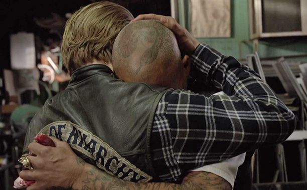 Bet We Can Make You Cry With These Sons Of Anarchy Finale Photos Sons Of Anarchy Sons Of Anarchy Finale Anarchy