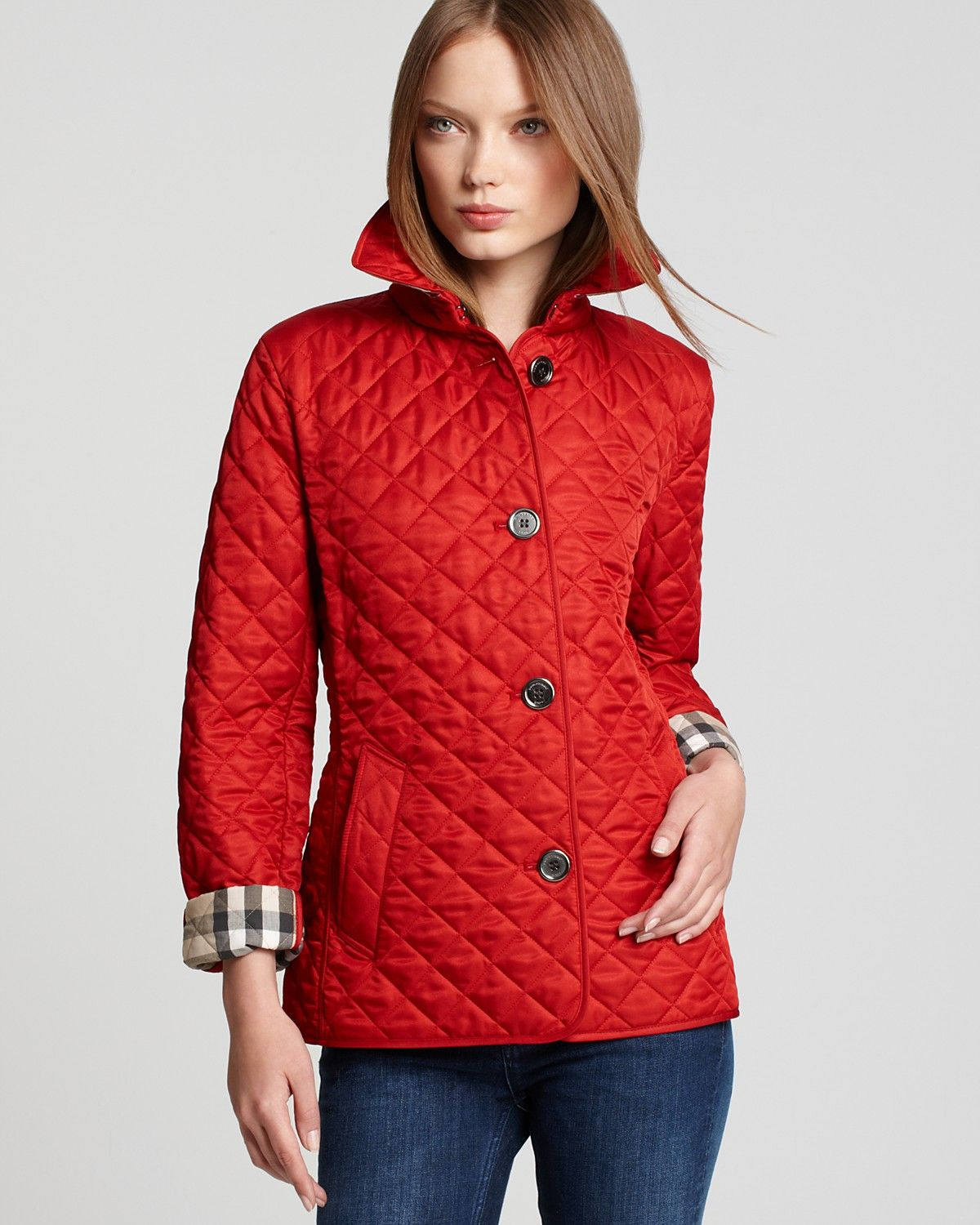 Burberry Brit Copford Quilted Jacket | Bloomingdale's | Dream ...
