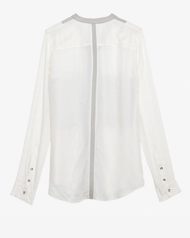 Helmut Lang Leather Pocket Shirt