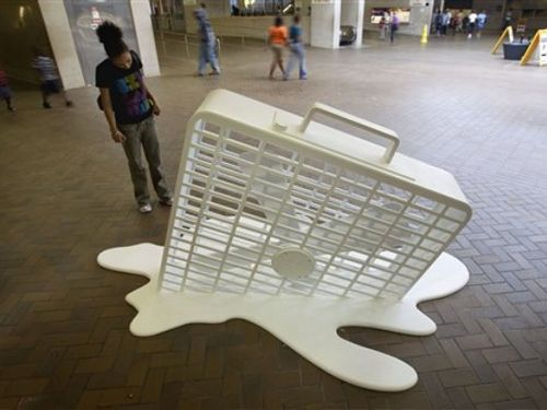 The Whatever Hot Todays Forecast Fan Installation Art