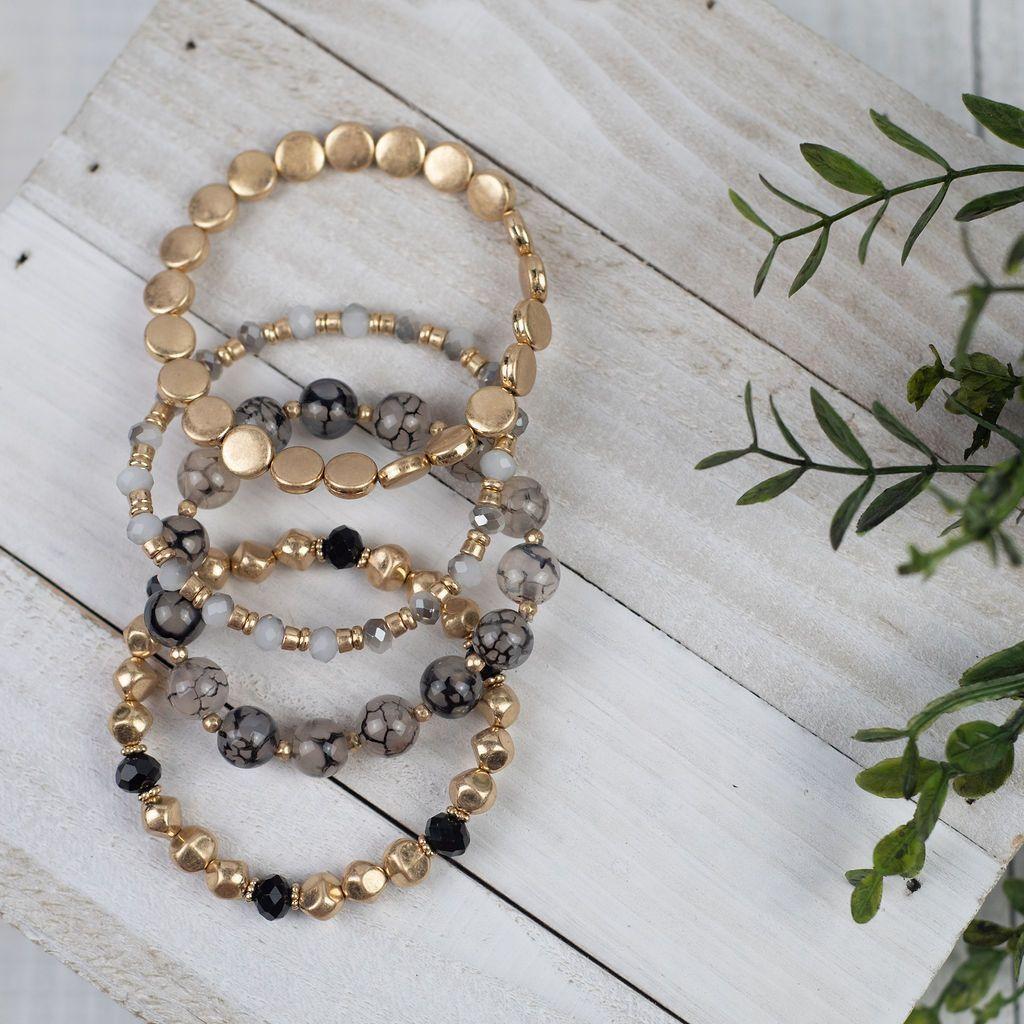 Photo of Piper Beaded Bracelet Stack